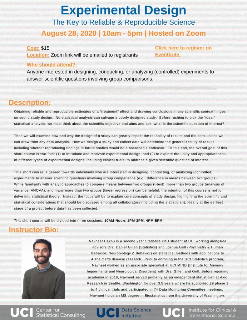 experimental-design-short-course-flyer
